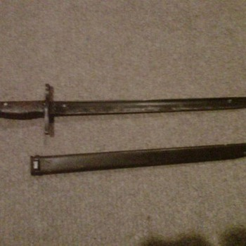 Japanese World War 2 bayonet