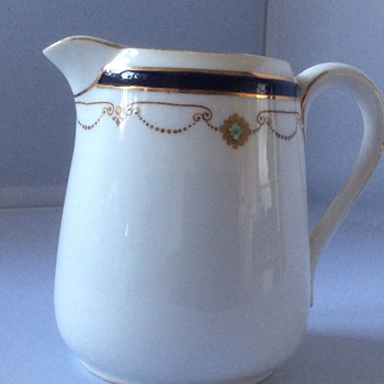 Antique china jug