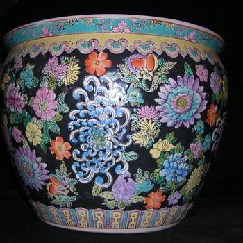 Large Pottery Bowl  - Art Pottery
