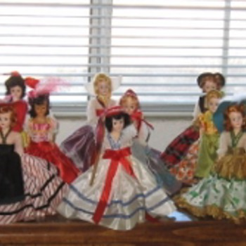 "My Reddi-Wips ""Dolls of the World"""