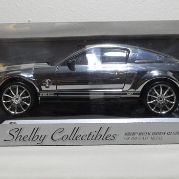SHELBY SPECIAL EDITION 427 GT500 SUPER SNAKE CHROME DIE CAST