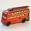 Wells Brimtoy london tin bus