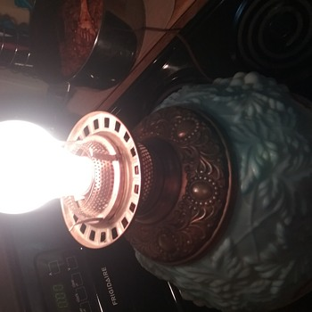 My Beautiful Electric,Vintage, 2-Way light up and Table Top Lamp - Lamps
