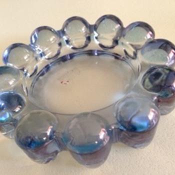 Glass Ashtray - Tobacciana