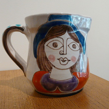 "GIOVANNI DESIMONE JUG ""GIUSEPPINA"" - Art Pottery"