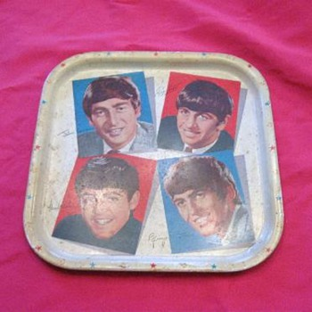 Beatles Tin Tray