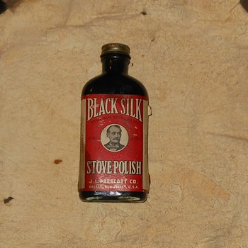 Black Silk Stove Polish 1910-1930