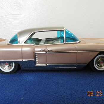 Here is my Marusan Cadillac friction toy. - Model Cars