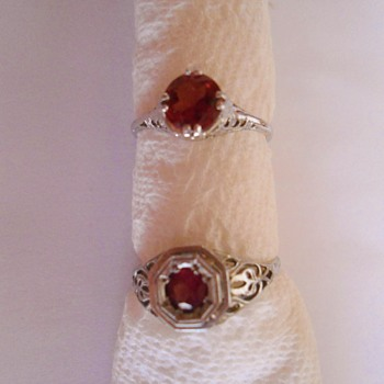 My Grandmothers Art Deco Rings 1920s - Fine Jewelry