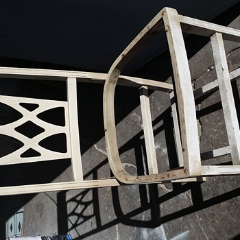 Old folding chair - Furniture