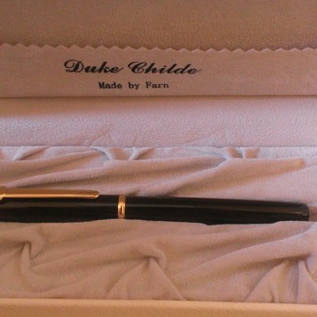 Duke Childe by Farn (Uranus) Fountain Pen
