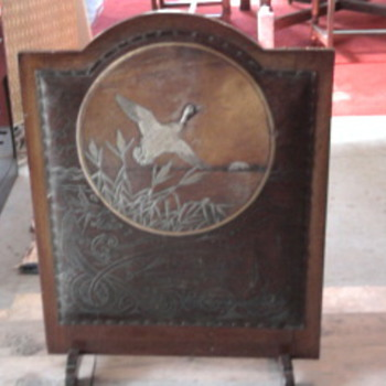 Antique Firescreen - Tools and Hardware