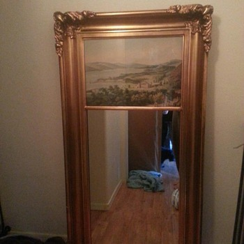 "Mirror, about 55"" tall"