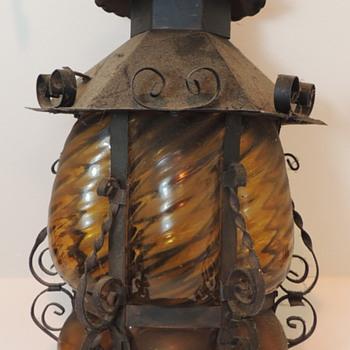 Gothic Hanging Lantern