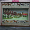 unknown year Budweiser large 3D cardboard sign
