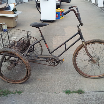 Old tricycle.  - Sporting Goods