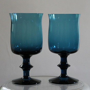 Boda Afors Goblets by Bertil Vallien - Art Glass
