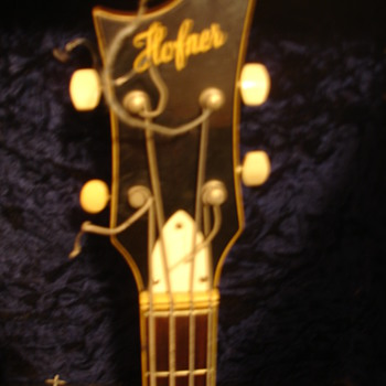 Step dads old Hofner bass