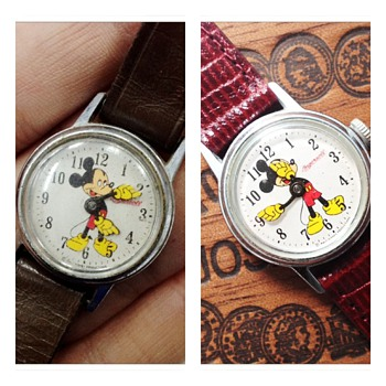 Restored beauty: Ingersoll 50's Mickey Mouse Watch #00