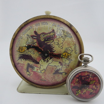 Big Bad Wolf - Pocket Watches