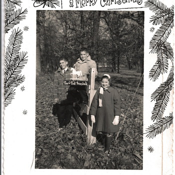 Vintage Christmas Photocards