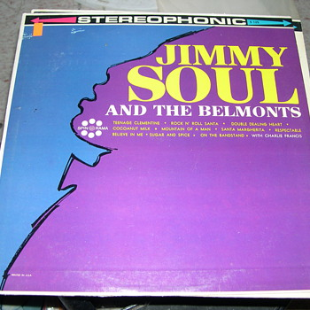 JIMMY SOUL AND THE BELMONTS SPIN O RAMA RECORDS - Records