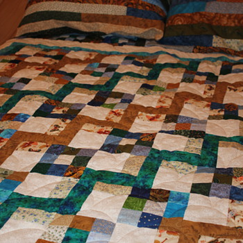 Handmade Quilts - Sewing