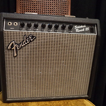 Fender Sidekick Reverb 25 80s Black - Guitars