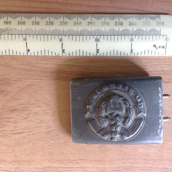 WW2 (?) Belt Buckle - Military and Wartime