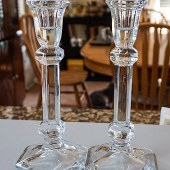 Crystal Candle Sticks