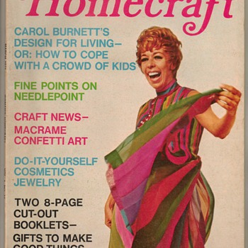 1971 - Woman's Homecraft Magazine - Carol Burnett - Paper