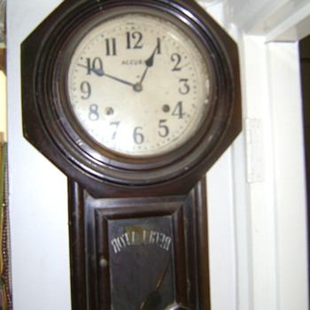 Regulator Clock of my Grandfather.