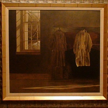 """The Quaker"" By Andrew Wyeth Collotype By Triton Press Exact Special Print And Frame Approved By Andrew Wyeth"