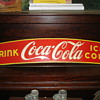 Early&quot; Coke&quot;  Truck or Taxi sign