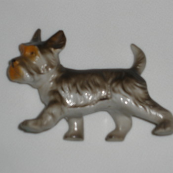 Small dog figure