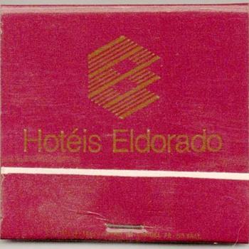 Hotéis Eldorado (Brazil) - Matchbook - Tobacciana