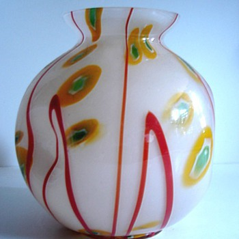 KRALIK CZECH ART DECO MURRINE III - Art Glass