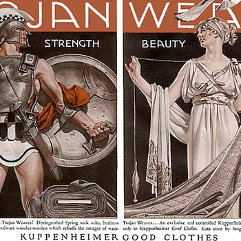 LEYENDECKER, KUPPENHEIMER AND CONDOMS - Advertising