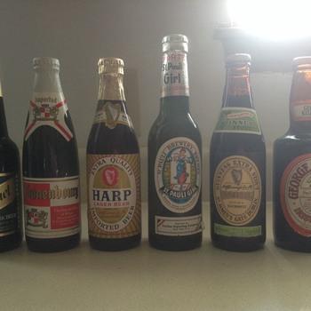 Never opened beer bottles - Bottles
