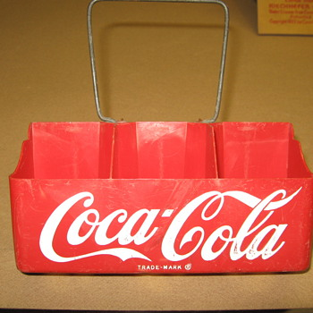 1950's Plastic Coca-Cola Carrier - Coca-Cola