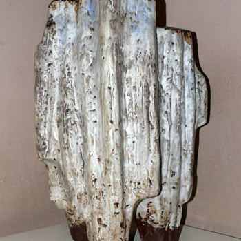 Helmut Friedrich Schäffenacker floor vase - Art Pottery