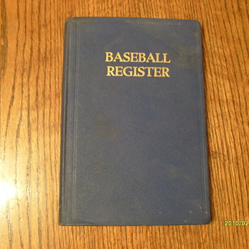 Baseball Register 1941