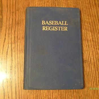 Baseball Register 1941