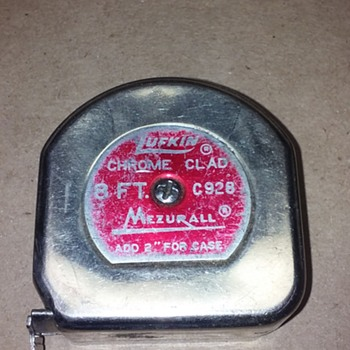 small LUFKIN MEZURALL tape measure