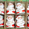 SANTA ORNAMENTS FROM JAPAN