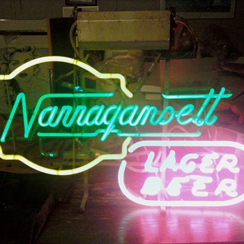 Narragansett Lager Beer - Signs
