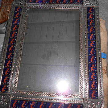 Tile mirror