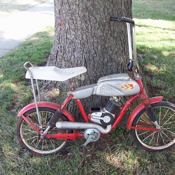 1964 Mattel Vrrooom Bicycle - Outdoor Sports