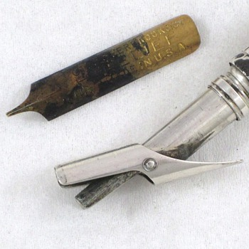 1825 Sampson Mordan Dip Pen & Pencil: