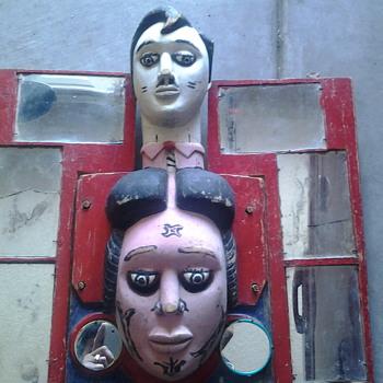 funhouse relic? or mardi gras mask?